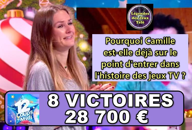 """Pourquoi Camille des """"12 coups de midi"""" pourrait-elle (déjà !) intégrer un TOP 50 dans les prochains jours ?"""