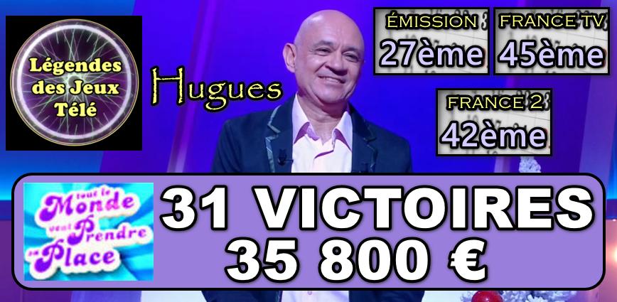 Tout le monde veut prendre sa place : Hugues prêt à intégrer un nouveau TOP 50 sous 2 parties ?