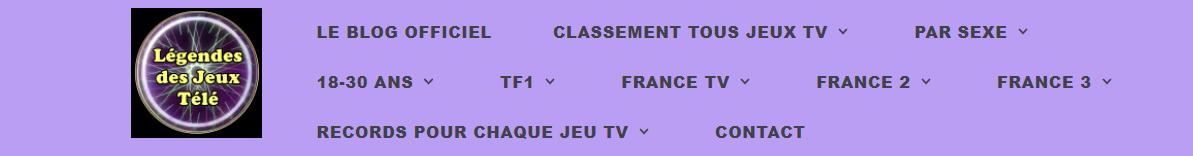 """Evolutions sur le blog """"légendes des jeux télé"""" !!!"""
