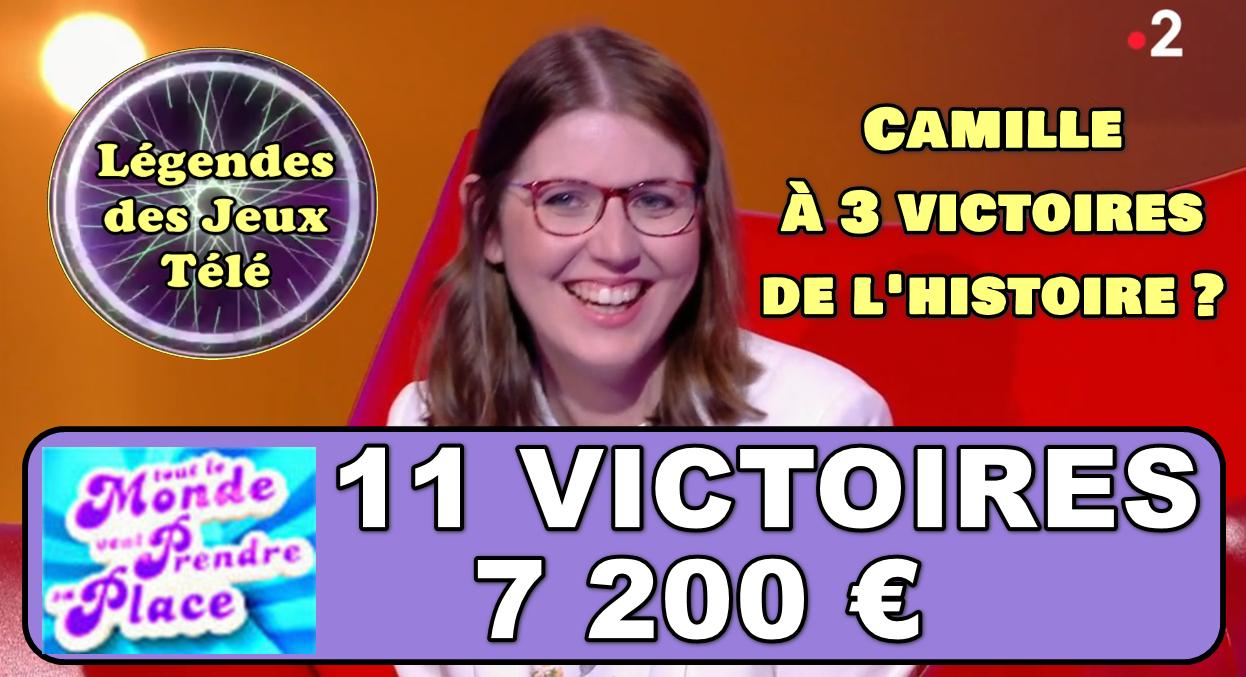 Tout le monde veut prendre sa place : Camille en route vers les 14 victoires et les durées victorieuses 18-30 ans ?