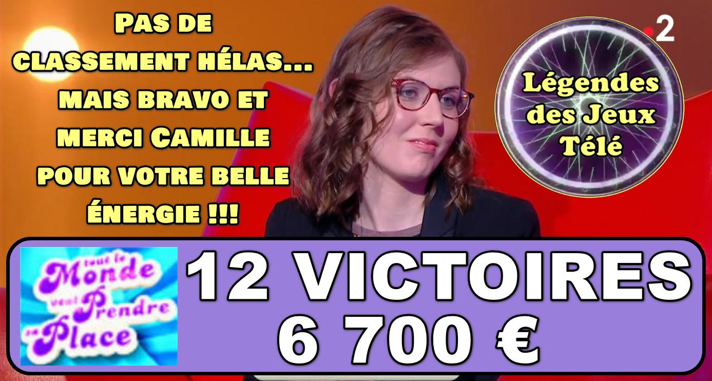 C'est finalement terminé pour Camille dans « tout le monde veut prendre sa place » ! 🌩