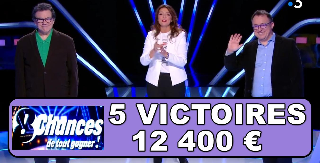 8 chances de tout gagner : record battu par Pascal et Alex !