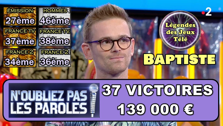 36 puis 37ème victoire et 1000 € supplémentaires ! Découvrez ses classements inédits du jour !