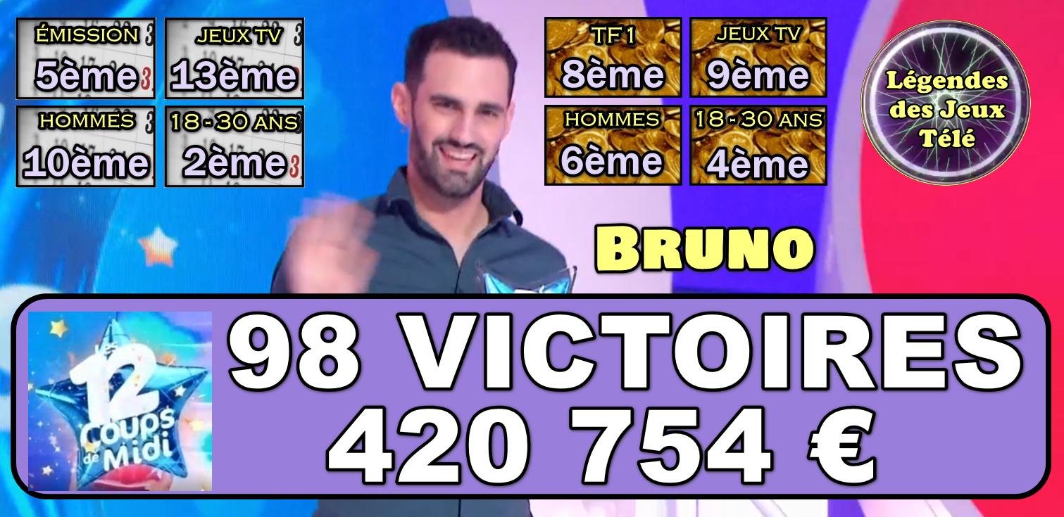 """Devant Léo (victoires) et Alexandre (gains), Bruno prêt à en découdre avec """"Tata Véro"""" ?"""
