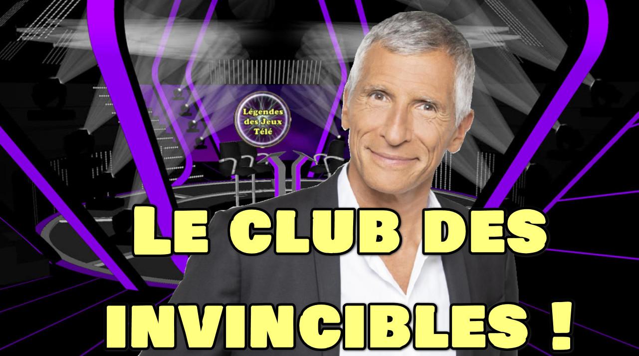 """""""Le club des invincibles"""", futur concept animé par Nagui, prêt à probablement mettre en valeur """"légendes des jeux télé"""" ?"""